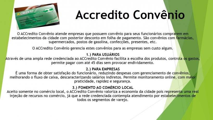 Accredito Convênio